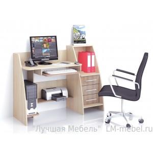 Стол компьютерный Грета-9 (шимо)