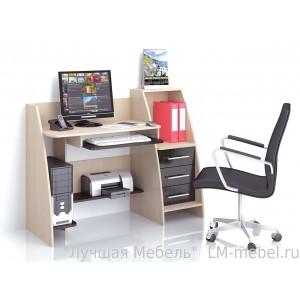 Стол компьютерный Грета-9 (венге)