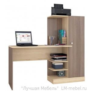 Стол компьютерный Квартет-6 (шимо)