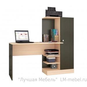 Стол компьютерный Квартет-6 (венге)