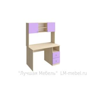 Письменный стол с надстройкой серии Астра РВ-Мебель