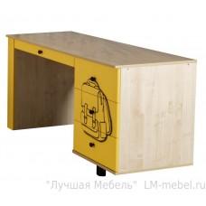 Письменный стол Тима и Тома модуль 7 желтый