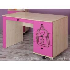 Письменный стол Тима и Тома модуль 8 розовый
