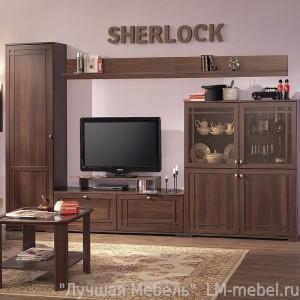 Шкаф стеллаж МЦН Sherlock 2 (Орех Шоколадный)