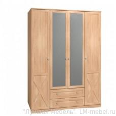 Шкаф четырехдверный ADELE 9