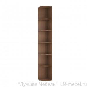 Стеллаж угловой Ливорно ЛШ-10 (Орех донской)