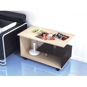 Стол журнальный Консул-5 (Дуб молочный)