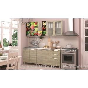 Кухня Санрайс 2,0м готовый комплект BTS