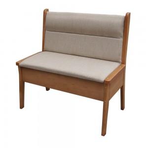 Прямой кухонный диван Кристофер из массива сосны