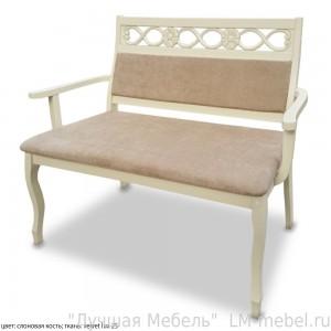 Прямой кухонный диван Акрополь из массива сосны