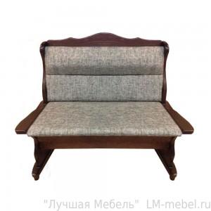 Прямой кухонный диван Себастьян из массива сосны