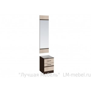 Тумба с зеркалом Сакура СЗ-01