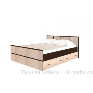Кровать 1,4 с настилом Сакура BTS