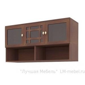 Шкаф навесной Sherlock 4 Орех Шоколадный (гостиная)