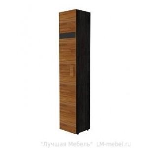 Шкаф для белья HYPER 1 левый (фасад Палисандр)