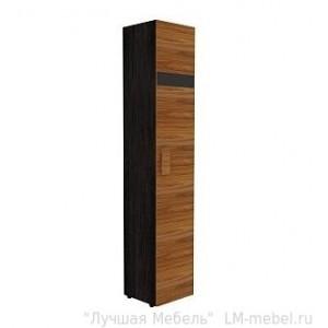 Шкаф для белья HYPER 1 правый (фасад Палисандр)