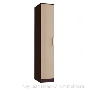 Шкаф-пенал Фиеста (Венге/Лоредо)
