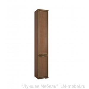 Шкаф пенал с полками Ливорно ЛШ-1 (Орех донской)