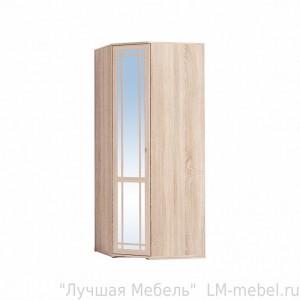 Шкаф угловой Sherlock 10 с зеркалом (Дуб сонома)