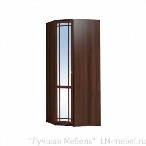 Шкаф угловой Sherlock 10 с зеркалом (Орех шоколадный)
