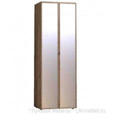 Шкаф двухдверный для одежды Nature фасад зеркало 54 (спальня)