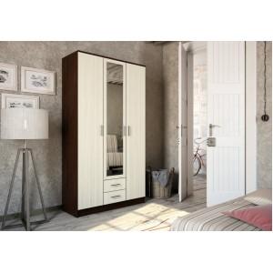 Шкаф 3 х дверный ТРИО Венге/Лоредо