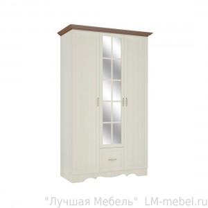 Шкаф трехстворчатый для одежды Шерри ШК-3 ТД Шагус