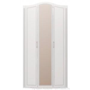 Шкаф Виктория трехстворчатый для одежды с зеркалом 09