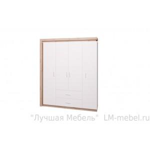Шкаф 4-х дверный Люмен 16 Ижмебель
