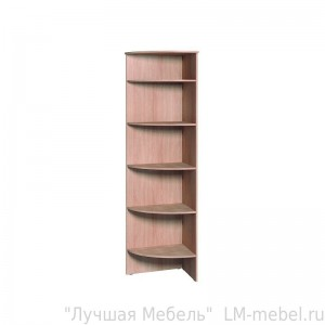 Стеллаж Home 4 угловая приставка к шкафу Глазов-Мебель