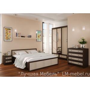 Спальня Модерн компоновка 1