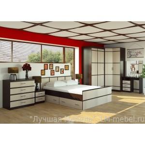 Спальня Сакура компоновка 1